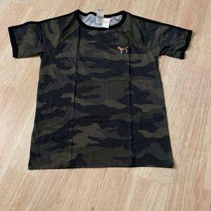 Victoria Secret camo shirt